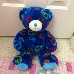 Build a Bear Peace Bear Plush
